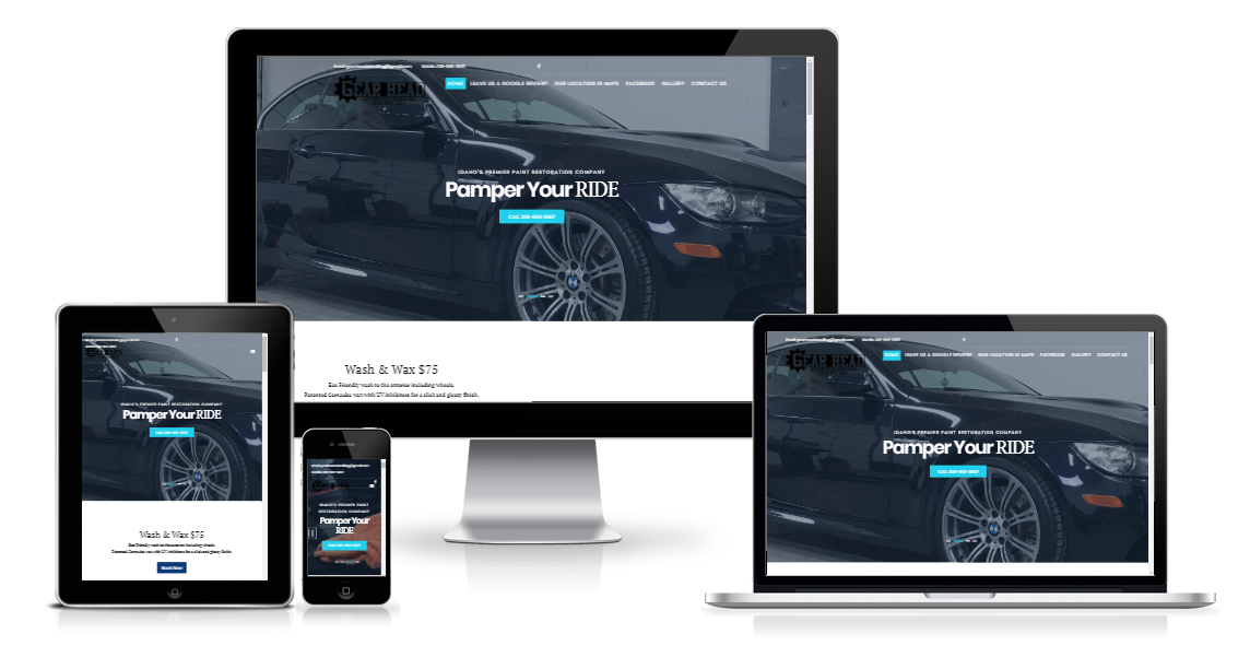 Website Design Portfolio Boise Idaho | Custom Website Design